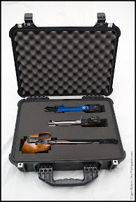 Loaded Peli 1520 gun case