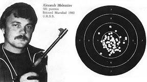Alexandr Melentiev - Olympic champion in free pistol