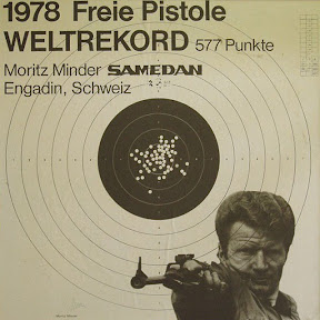 Moritz Minder - World champion in free pistol