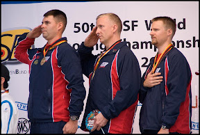 Photo: Rifle Prone Men Teams - MCPHAIL Michael, UPTAGRAFFT Eric, EMMONS Matthew (USA)