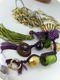 Favoritkombinationen - grøn & lilla