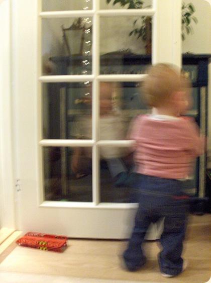 De kære små, som løber hurtigere, end et kamera kan fange...