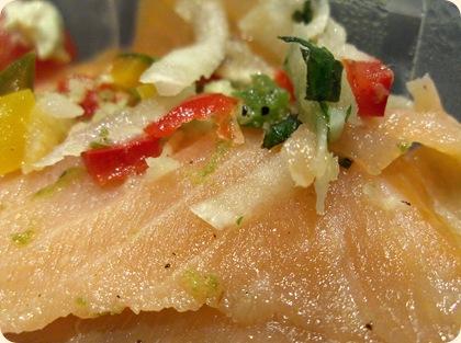 Chili-lime-marinerede laks