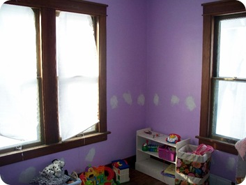 Little Miss's room - before
