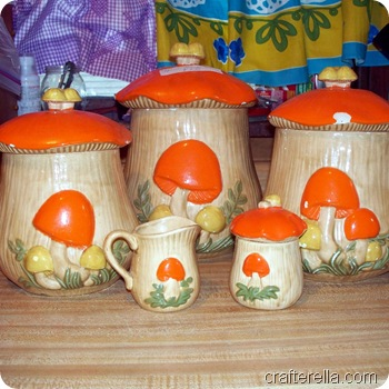 mushroom canisters before
