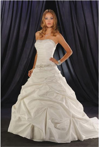 Beautiful Wedding Gown 2010