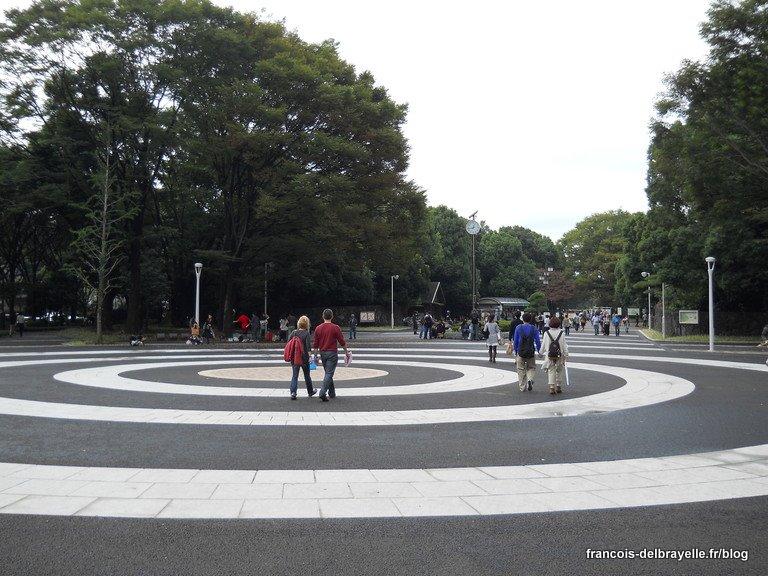 Entrée du parc Yoyogi
