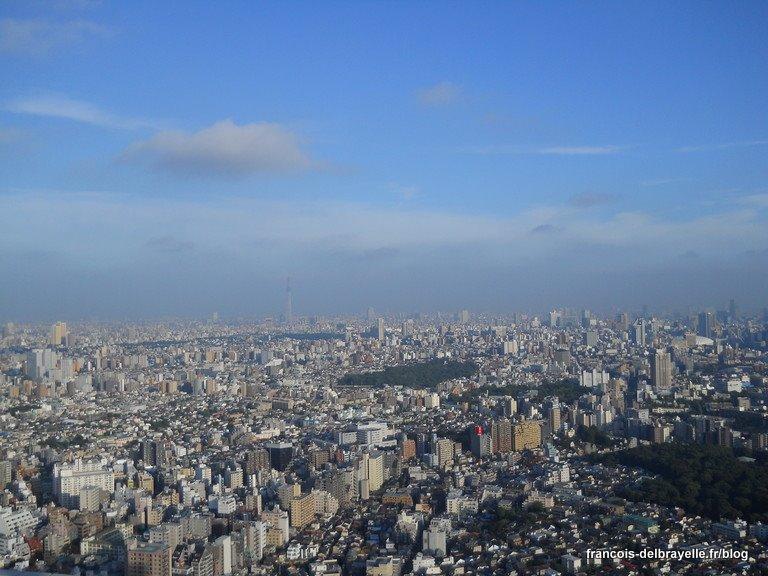 Vue depuis le Sunshine 60 - Tokyo Sky Tree au loin