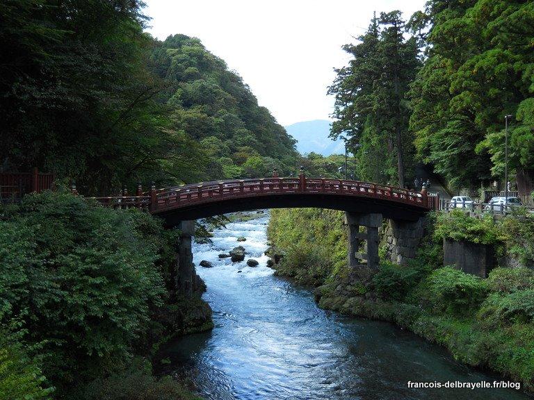 Pont Sacré du sanctuaire Futarasan