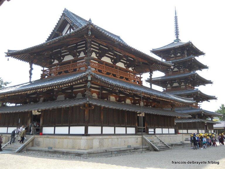 Bâtiment principal et pagode à cinq étages