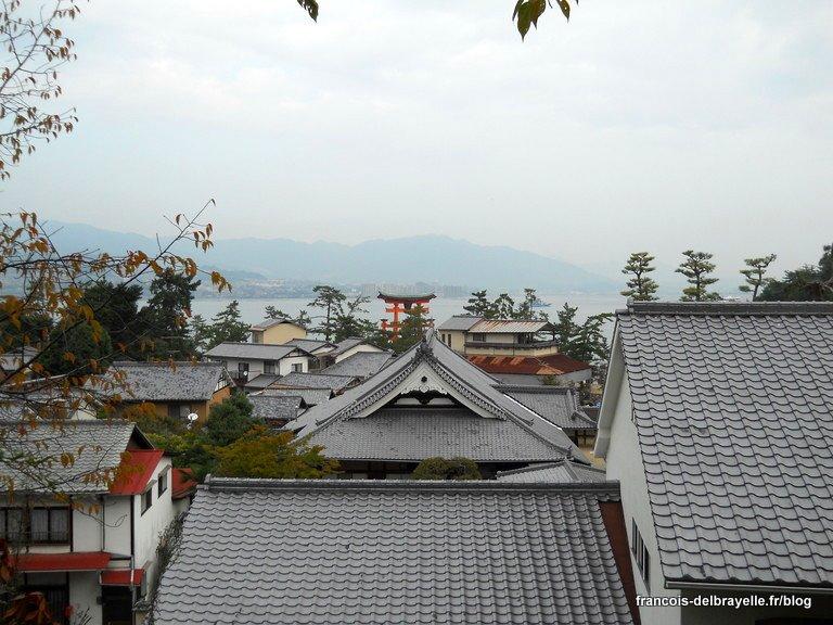 Vue depuis la pagode