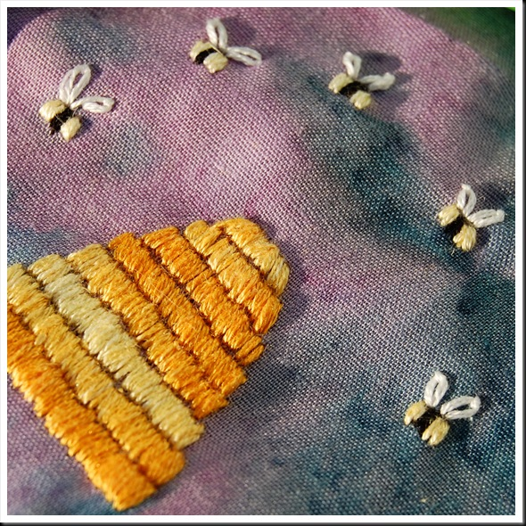 Beehive Embroidery