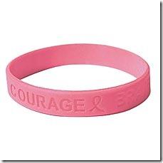 pink bracelet rubber