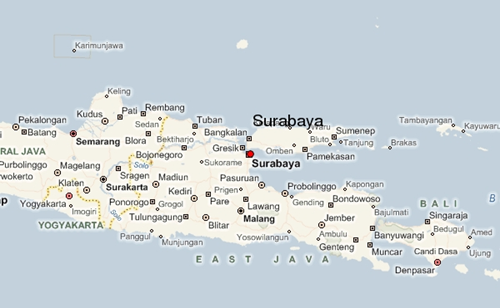 خرائط اندونيسيا