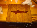 Dogfish cutting board