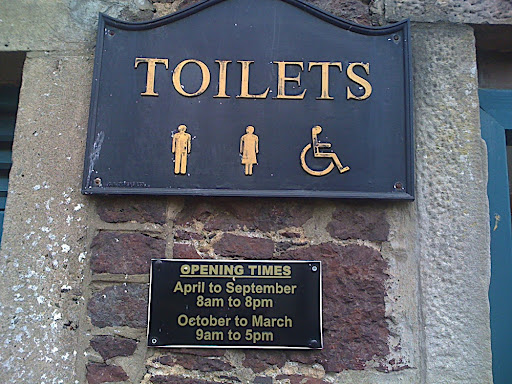 toilet opening hours