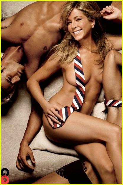 Jennifer Aniston Posa Desnuda Para La Ltima Portada De Revista