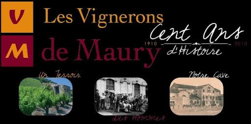 Les Vignerons de Maury les pages