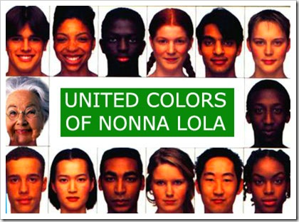 UNITED COLORS OF NONNALOLA