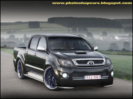 Toyota Hilux rebaixada tuning