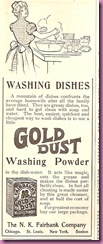 gold dust ad 1899
