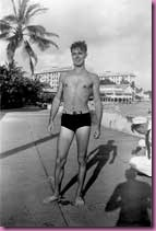 1950s bathing suit man