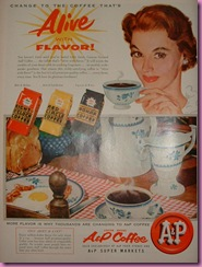 coffee ad 1955