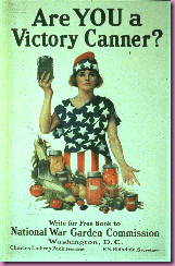 ww1 canning poster
