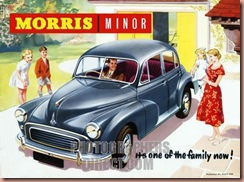 TRCR1050, Morris Minor, One Of The Family