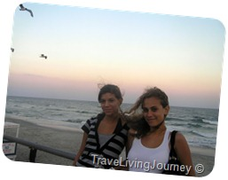 Reut and Amit in Ocean City, NJ