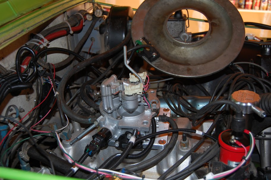 Affordable fuel injection afi install jeepforum this kit is rediculously easy to install all that needs to be done inside the vehicle is to hook up 4 wires check engine light ignition on publicscrutiny Images