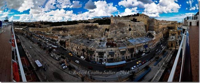 Malta La Valletta - panoramic 1