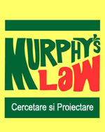 murphy s low banner Cercetare si Proiectare Legile lui Murphy – Cercetare si Proiectare
