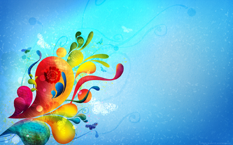 Abstract colors by AiK art Desktop wallpapers