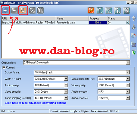 Video Get Printscreen Cum descarci filme de pe internet, de pe Youtube, Trilulilu, etc