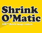 Shrink O Matic image resize software Redimensionarea automata a pozelor