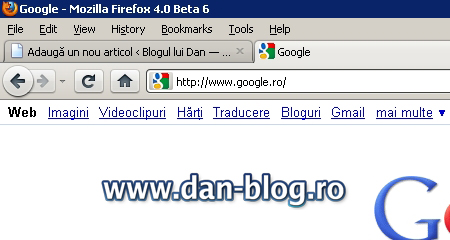 Mozilla Firefox 4 Mozilla Firefox 4.0 Beta 6 DOWNLOAD