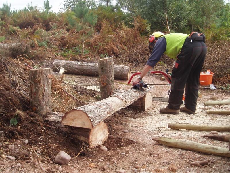 Similar Galleries: Log Bench Plans , Log Bench Fire Pit ,