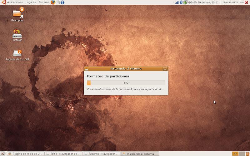 Tutorial instalando Ubuntu Linux