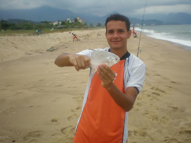 Pesca de Praia  - Massaguaçu - Caragua - 27/03/10 P3270686