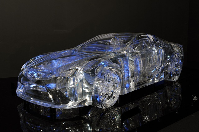 eXtreme Lexus Transparent Car