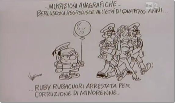 Mutazioni anagrafiche - vignetta vauro