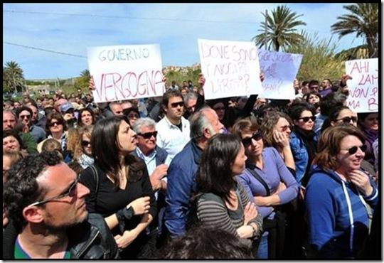 lampedusa proteste