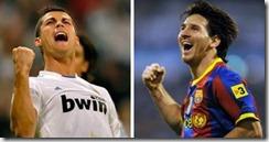 messi ronaldo champions