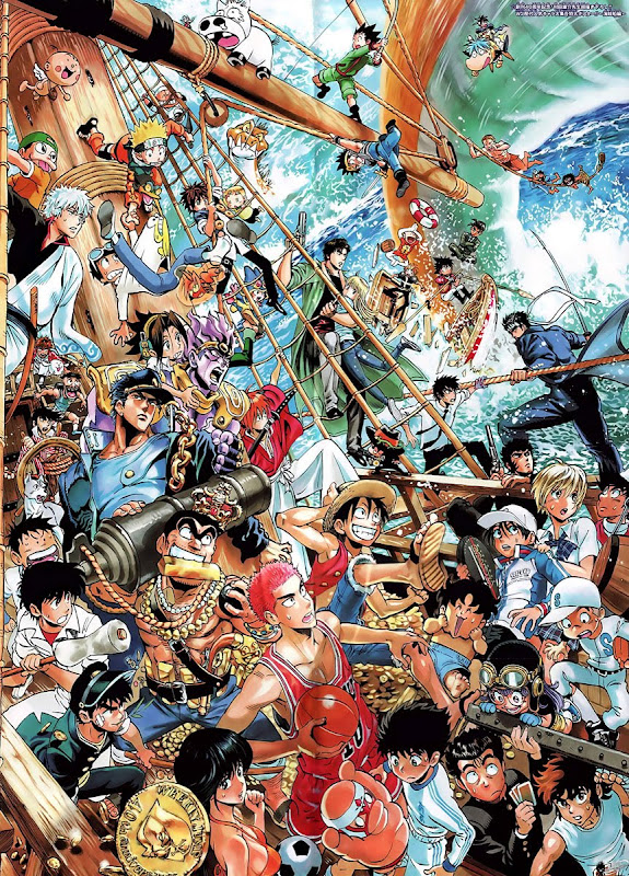 Shueisha's Shonen Jump characters