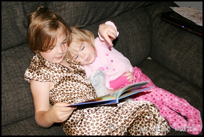 Have older siblings read to younger ones!