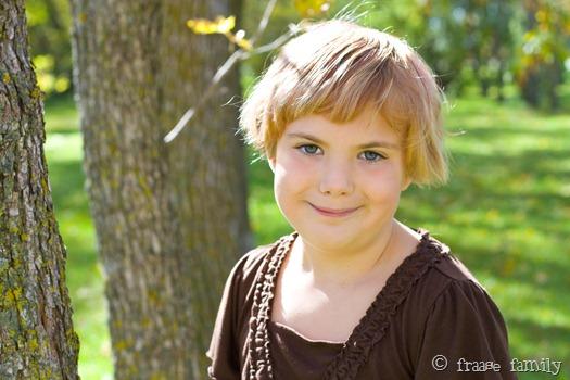 Aria age 8