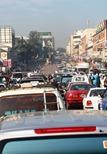 Half the population of Uganda lives in/around Kampala. ~8 million people!