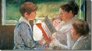 Vovó lendo