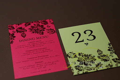 Julie 39s Garden Wedding Invitations used one of my favorite fonts